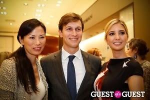 Wendi Murdoch, Jared Kushner, Ivanka Trump