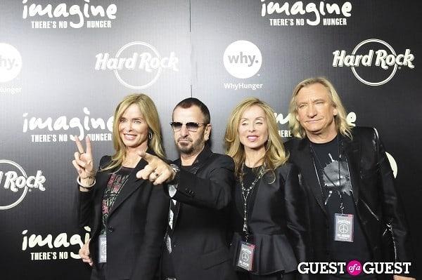 Barbara Bach, Ringo Starr, Majorie Bach, Joe Walsh
