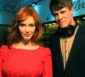 Christina Hendricks, Jake Moore