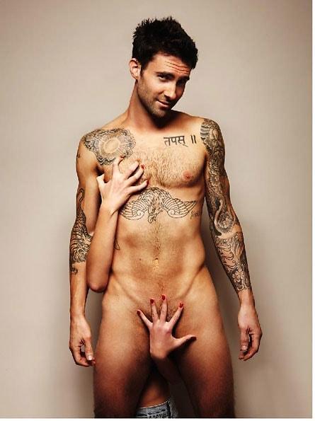 Adam nude pic victoria
