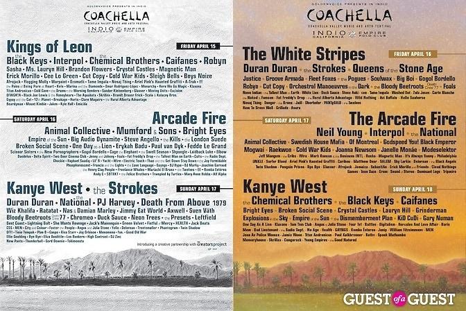 Coachella 2011 flyers