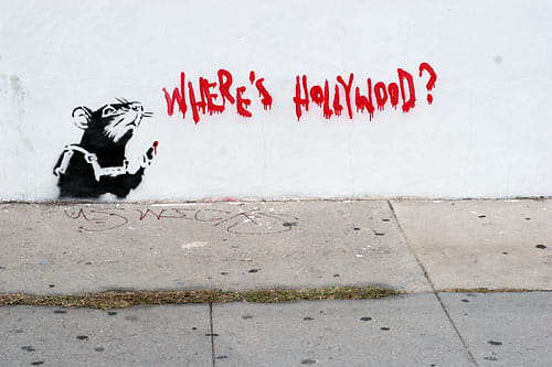 Where's Hollywood Banksy