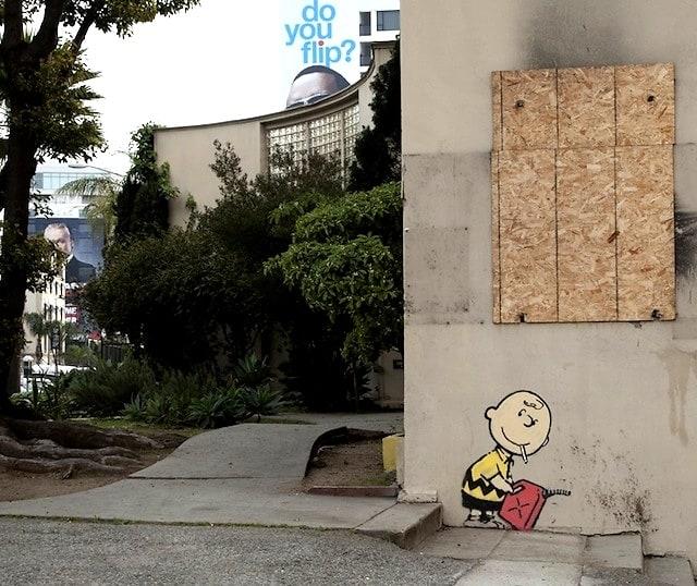 Charlie Brown Banksy