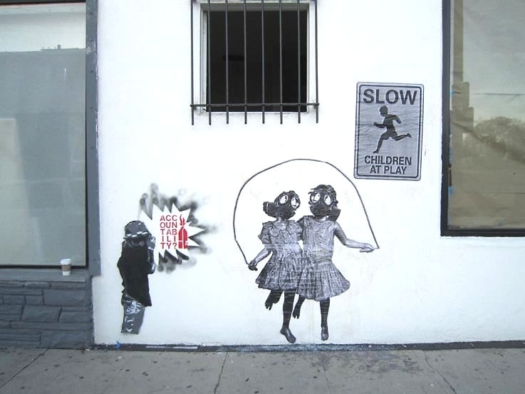 Banksy Children at Play