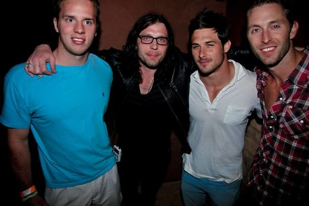 Nathan Followill of Kings of Leon and guests
