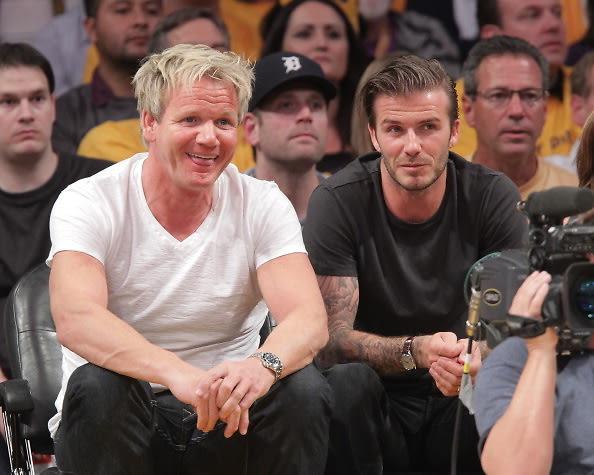 Gordon Ramsey, David Beckham