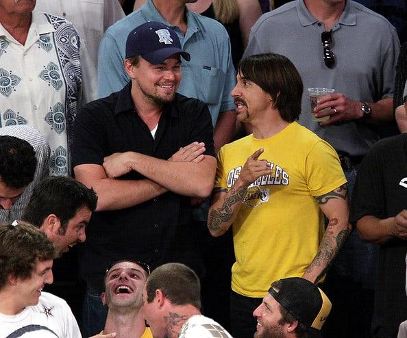 Leonardo DiCaprio, Anthony Kiedis