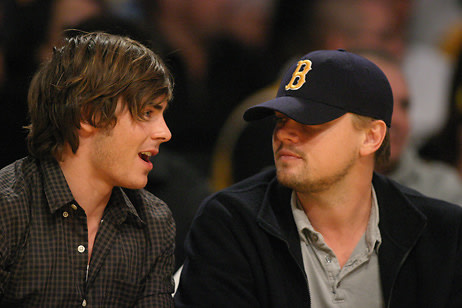 Zac Efron, Leonardo DiCaprio