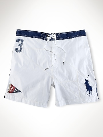 polo ralph lauren logo shorts mens polo bathing suits