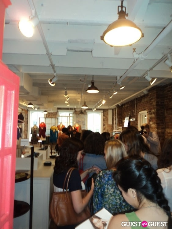 Madewell party for Alexa Chung