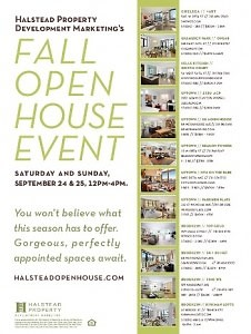 youre invited halstead property development marketings fall open house event