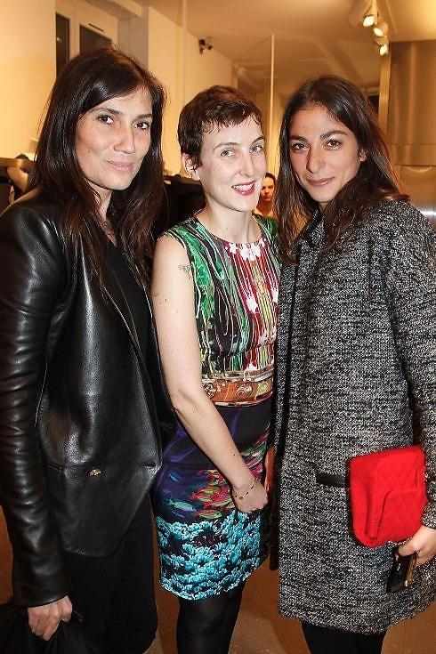 8e071a42d4 Mary Katrantzou And Longchamp s Sophie Delafontaine Celebrate ...