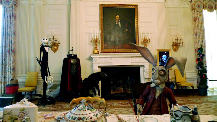 Details Of Lavish, Secret White House Alice In Wonderland Party Emerge