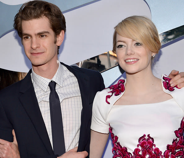 Last Night S Parties Emma Stone Andrew Garfield Hit The Spider Man Premiere Cindy Crawford Gets Festive For The 4th More