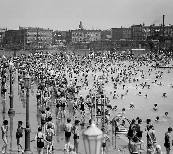 Rose Uniacke Transforms Screenwriter Peter Morgan S: Take A Look At Brooklyn's McCarren Pool Set To Open This Month