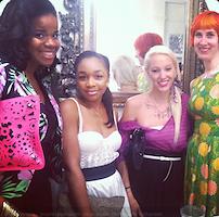 Trisha Penn, Cortniee Elizabeth, Katie Petix