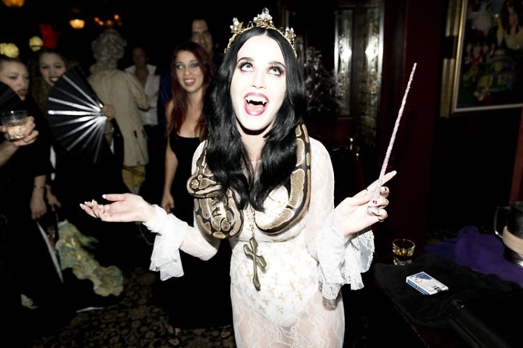 Check Out John Mayer Skrillex More At Katy Perrys Haunted