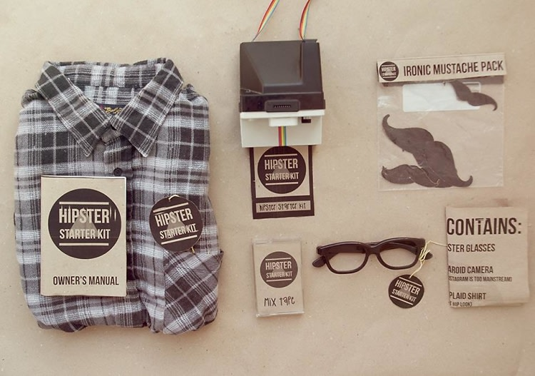 The Best Guests Come Bearing Gifts Hipster Starter Kit