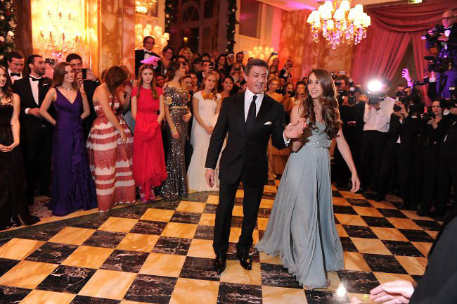 Best Dressed Guests: 20th Annual Crillon Ball In Paris