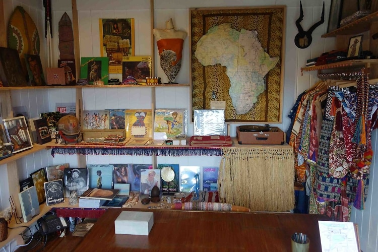 Bob Melet's store at the Crow's Nest, Montauk
