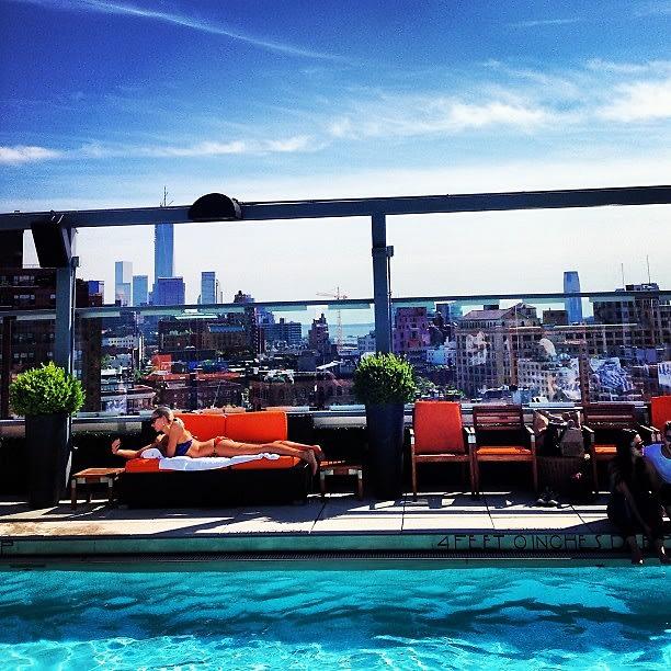 Gansevoort Rooftop Pool