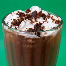 Spiked Thin Mint Shake