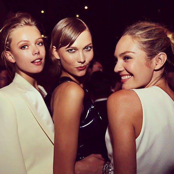 Frida Gustavsson, Karlie Kloss, Candice Swanepoel