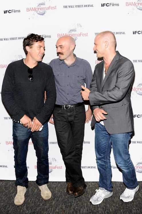 Casey Affleck, David Lowery, Ben Foster