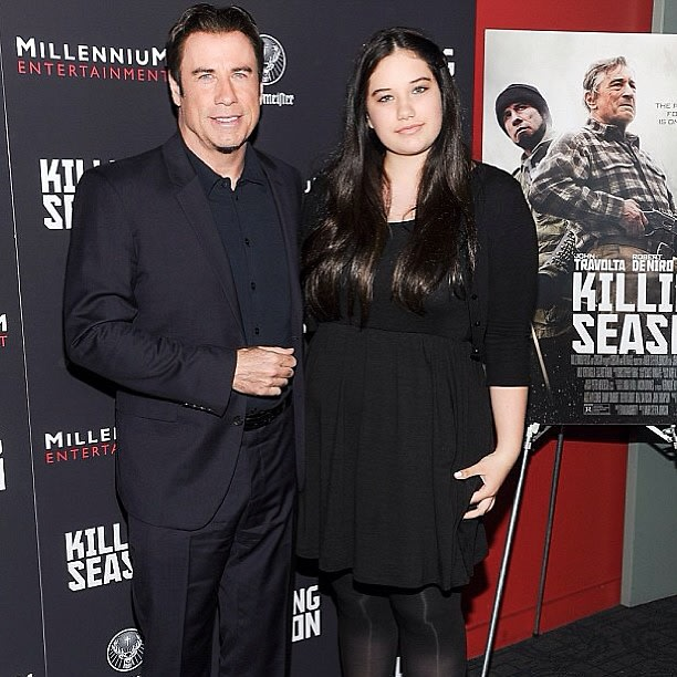 John Travolta, Ella Bleu