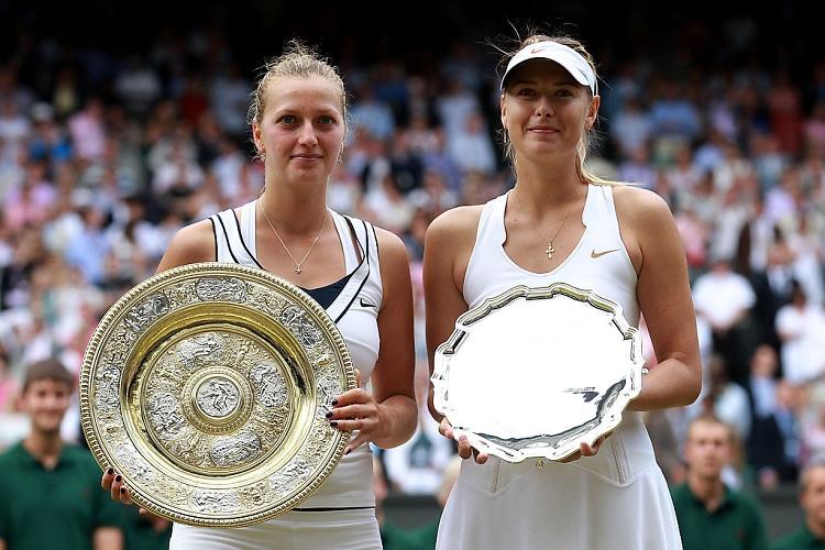 Petra Kvitova, Maria Sharapova