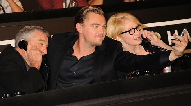 Robert DeNiro, Leonardo DiCaprio, Ellen Barkin