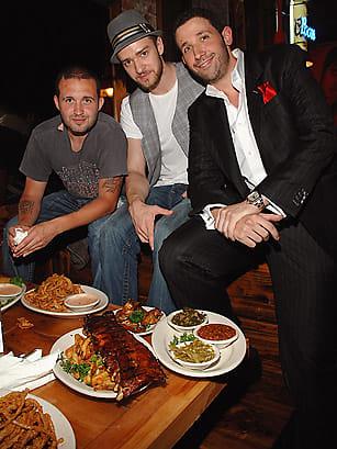 Trace Ayala, Justin Timberlake, Eytan Sugarman