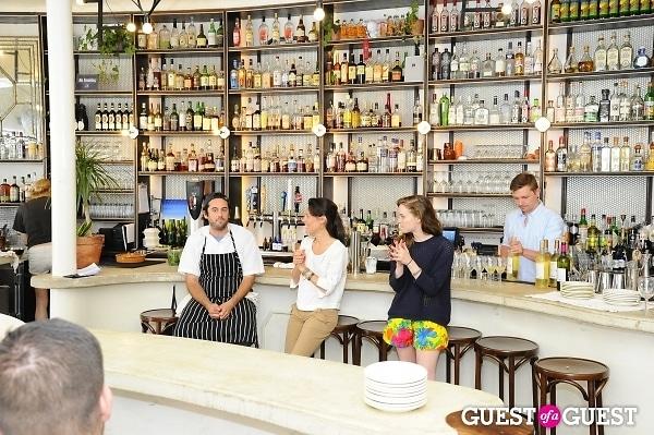 Sud De France Tasting Tables at Donna