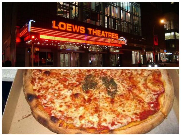 AMC Loews Lincoln Square 13 And La Traviata Pizza