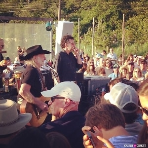 Willie Nelson at Surf Lodge