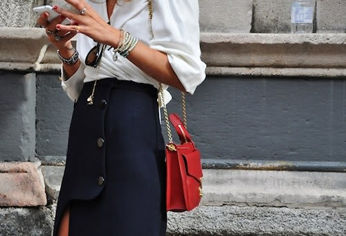 Red White And Blue Fashion