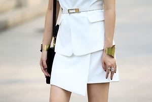 Gold Cuff Street Style