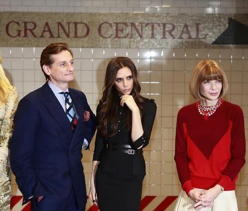 Hamish Bowles, Victoria Beckham, Anna Wintour