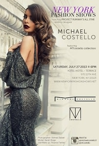 Michael Costello Fashion Show