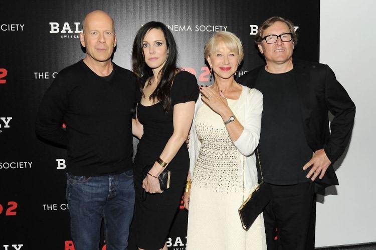 Bruce Willis, Mary-Louise Parker, Helen Mirren, Lorenzo di Bonaventura