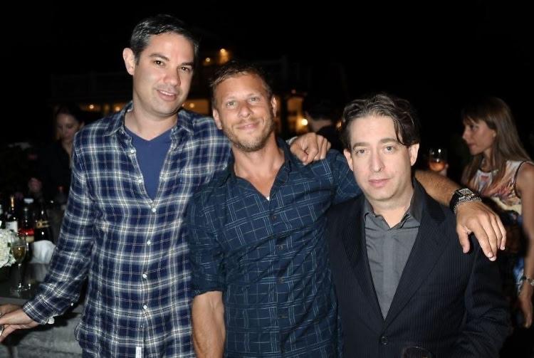 Shawn Sachs, Brad Zeifman, Charlie Walk