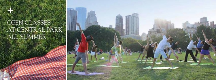DeRose Method Class in Central Park