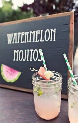 Watermelon Mojito