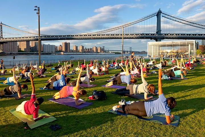 Brooklyn Bridge Park Pilates