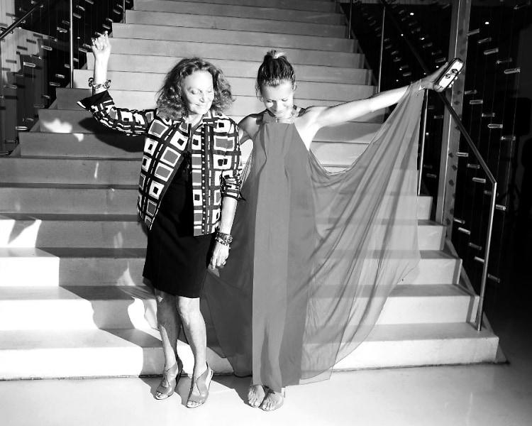 Diane von Furstenberg, Natalie Joos