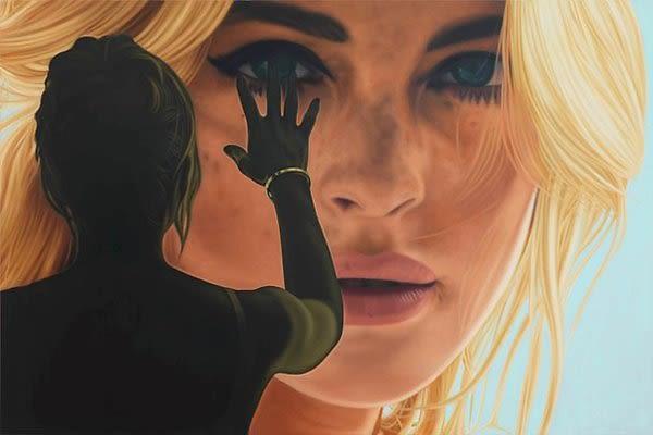 Lindsay Lohan by Richard Phillips