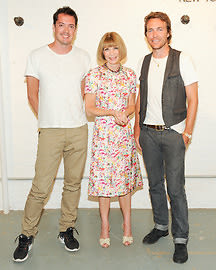 Marcus Wainwright, Anna Wintour, David Neville