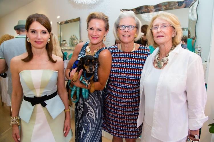 Jean Shafiroff, Kim Dryer, Cathy Duemler, Susan Allen