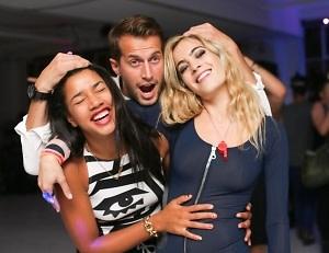 Hannah Bronfman, Brendan Fallis, Chelsea Leyland