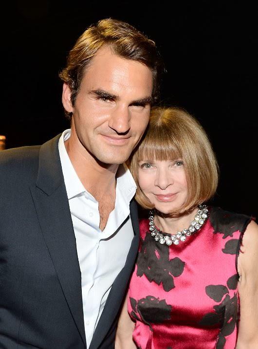 Roger Federer, Anna Wintour